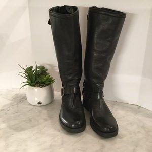 NWT Black Arturochiang Ella Riding Boots